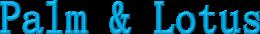 Palm & Lotus Logo